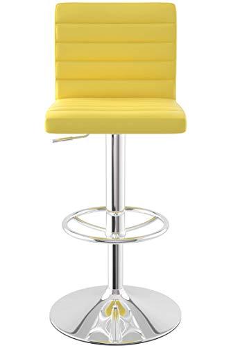 Sydney Bar Stool (Yellow)
