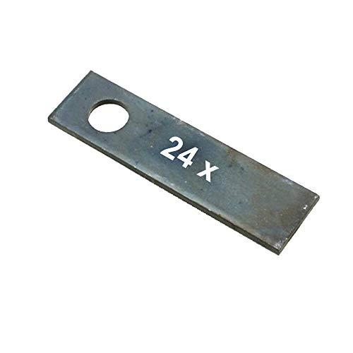 24 Vertikutiermesser für Stiga Vertikutierer VB38 ersetzt 1319-1626-01 1319-1760-01 1621-0050-01