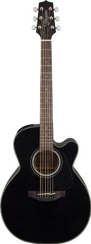 Guitarra takamine auditorium cutaway electro noire