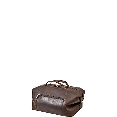 Claire Chase Dual Handle Sport Duffel, Espresso, One Size