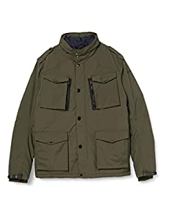 SCHOTT FIELD Blouson Homme, Vert (Kaki), Medium (Taille fabricant: M) (B00CGFUXV8) | Amazon price tracker / tracking, Amazon price history charts, Amazon price watches, Amazon price drop alerts