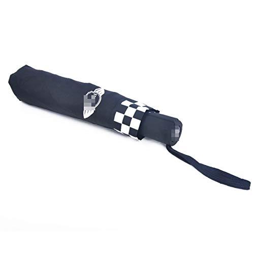 para Mini Cooper One R55 R56 F54 F55 F56 F60 Paraguas Inverso De Doble Capa A Prueba De Viento Paraguas De Playa para El Sol Accesorios De Estilo Piezas para Coche