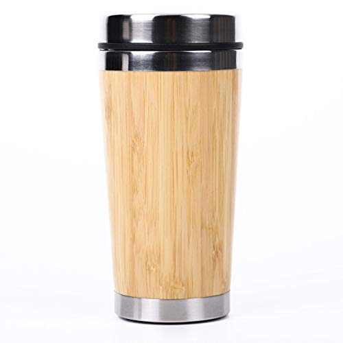 Water Bottle Thermos Insulated Stainless Steel Reusable Sports Water Bottle Coffee Cup 450Ml/15Oz Keeps Hot and Cold Leakproof Lids with Lifting Loop