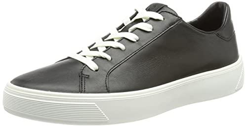 ECCO Street Tray, Zapatillas Mujer, Negro, 38 EU