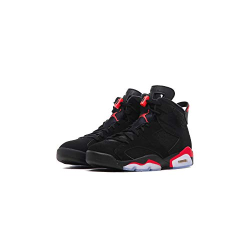 Jordan 6 Retro, Chaussures de Fitness Homme, Multicolore (Black/Infrared 000), 47 EU