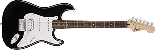 Bullet Stratocaster HT HSS Squier, 371005506, black, 3.6x14.9x44.3 in
