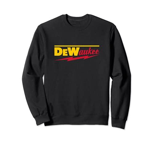 Divertida marca de herramientas eléctricas DeWaukee Sudadera