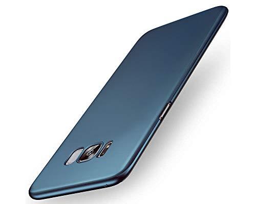 """EIISSION Funda Compatible con Samsung Galaxy S8 (5.8""""),Ultra Ligero Suave Mate Sedoso Pintura PC Funda Protectora de teléfono Samsung Galaxy S8 Funda (Azul Oscuro)"""