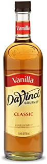 DaVinci Gourmet Classic Syrup, Vanilla, 25.4 Ounce (Pack of 3)