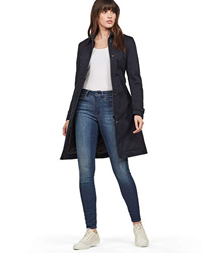 G-STAR RAW Damen Minor Long Slim Padded Trench