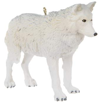 Gray Wolf Ornament Christmas Tree Decoration Gift