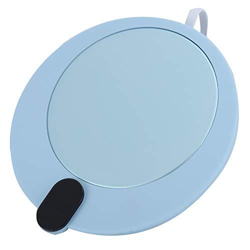 Valentines Day PresentLichtgewicht verwarmingsmat, bekerwarmer, voor thuis keramiek, glazen, roestvrij staal, babyflessen Office Halloween kerstcadeau(blue)