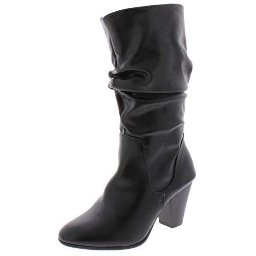 ESPRIT Frauen Oliana Geschlossener Zeh Fashion Stiefel Schwarz Groesse 8.5 US /39.5 EU