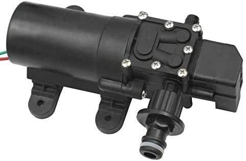 12V Wasserpumpe mit Automatik Start/Stopp Funktion selbstansaugende Druckwasserpumpe