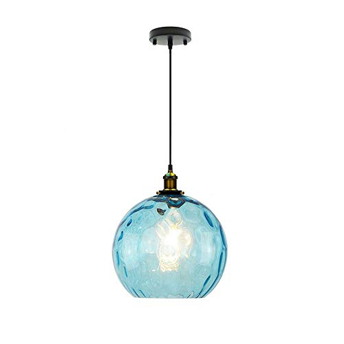 I-xun Modern Pendant Lighting Blue Industrial Design E27...
