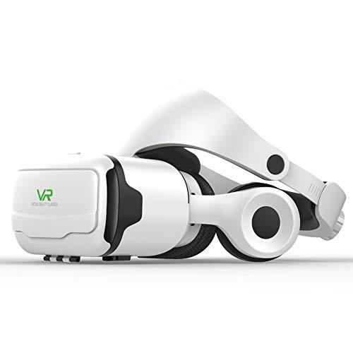 Rzj-njw Irtual Reality Brille 3D-VR-Brille Original-Mini Google Karton VR Box 2.0 für 4,0-6,0 Zoll Smartphone