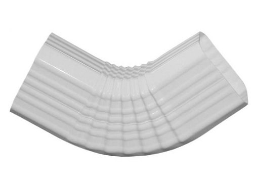 Type Downspout Elbow Inch White