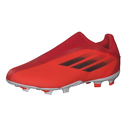 adidas X SPEEDFLOW.3 LL FG J,  Zapatillas Deportivas,  Rojo/NEGBÁS/Rojsol,  36 2/3 EU