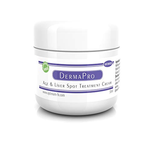 Derma PRO Age and Liver Spot Treatment Cream - Paraben and Cruelty FREE - 50 ml