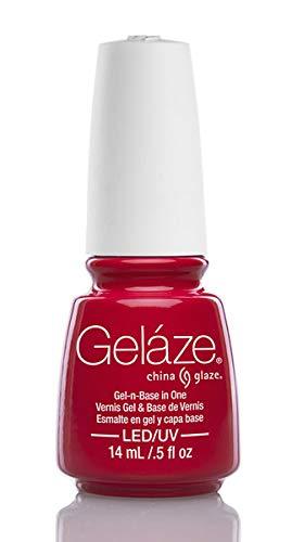 Gelaze Gel-n-Base Gel Polish Hot Flash - 5 fl oz