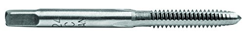 Century Drill & Tool 95004 High Carbon Steel Fractional Plug Tap, 6-32 NC