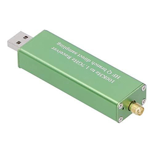 Receptor digital portátil, SDR RTL2832U R820T, versión de actualización, A300U DAB FM Green, sintonizador de radio digital, para música en casa