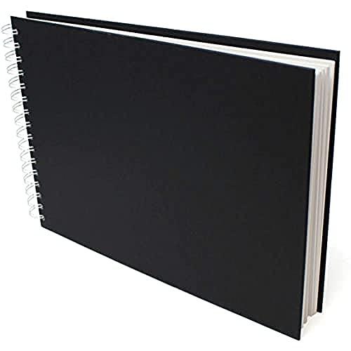 Artway Cuaderno de bocetos, Negro, 1 x Apaisado A4