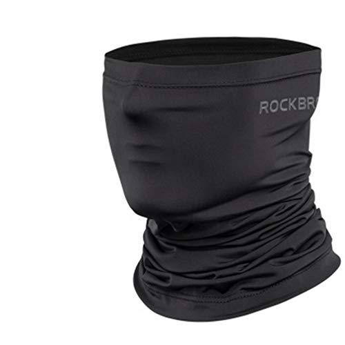 ROCKBROS Ice Silk Zonnebrandcrème Zomer Buiten Rijden Multifunctioneel masker Zwart