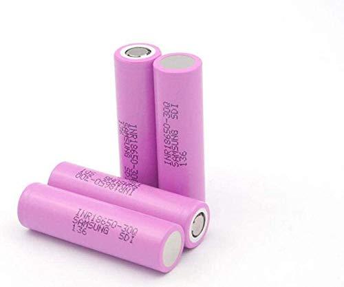 4pcs 18650-30Q batería de Litio 3000mAh Capacidad 3.7v Coche eléctrico poolable 20A Descarga Continua