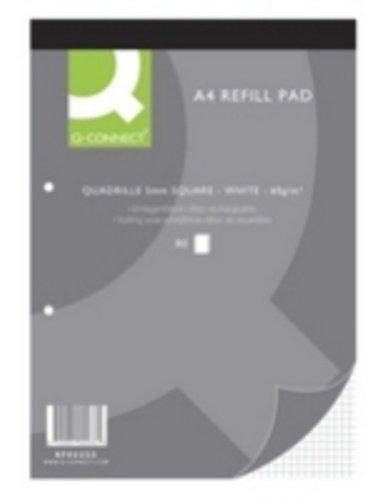Qualität A4Quadrille Refill Pad 80Blatt (10Stück)