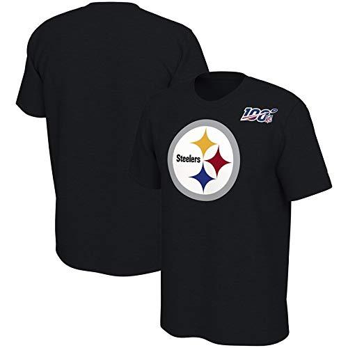 Dll NFL100 Aniversario de la legendaria edición Conmemorativa Camiseta de los Hombres del fútbol Americano (Color : B, Size : XL)