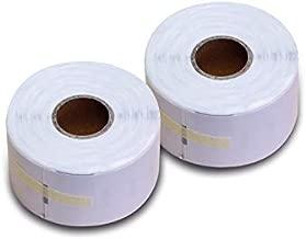 Labels Kangaro Compatible Dymo 99012 36 mm x 89 mm Box 2 Rolls Each 260 Labels