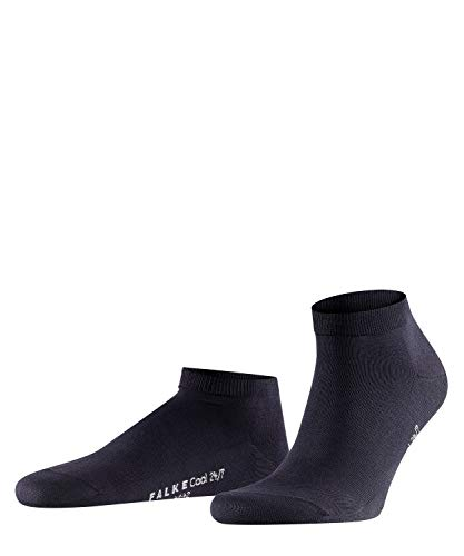 FALKE Herren Cool 24/7 M SN Socken, Blickdicht, Blau (Dark Navy 6370), 45-46 (UK 10-11 Ι US 11-12)