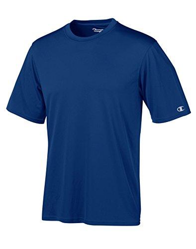 Champion Double Dry 4.1 oz.Interlock camiseta, 2XL, ROYAL BLUE