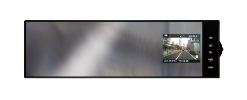 ユピテル 常時録画ミラータイプドライブレコーダー200万画素FullHD画質 DRY-FH220M