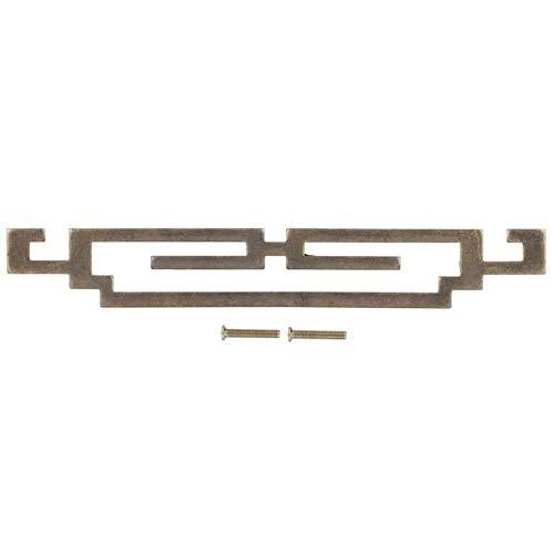 Tirador antiguo para armario de zapatos, instalación sencilla, fuerte y hermoso, tirador de puerta para armario, dormitorio para la cocina del hogar(Large handle)