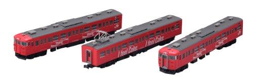 J.R. Suburban Train Series 115-1000 `COCA-COLA Color` (3-Car Set) (Model Train)