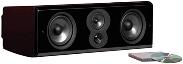 Polk Audio LSiM 706c Flagship Center Channel Speaker | Dynamic Balance & PowerPort Technology | Bi-Wire & Bi-Amp | Midnight Mahogany