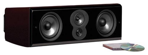 Polk Audio LSiM 706c MM Center Channel Speaker (Midnight Mahogany, Each)