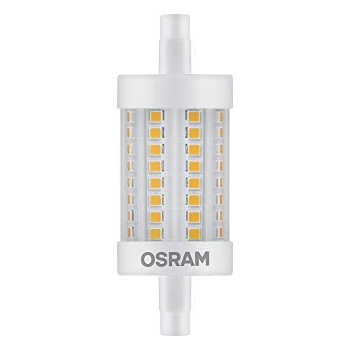 OSRAM LED Stablampe mit R7s Sockel, LED-Röhre mit 8 W-Glühbirne, Ersatz für 75W-Glühbirne, Warmweiß (2700K)