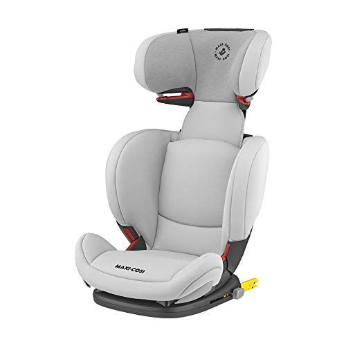 Maxi-Cosi RodiFix AirProtect Silla coche grupo 2/3 isofix, 15 - 36 kg, silla auto reclinable, crece con el niño 3.5 - 12 años, color authentic grey
