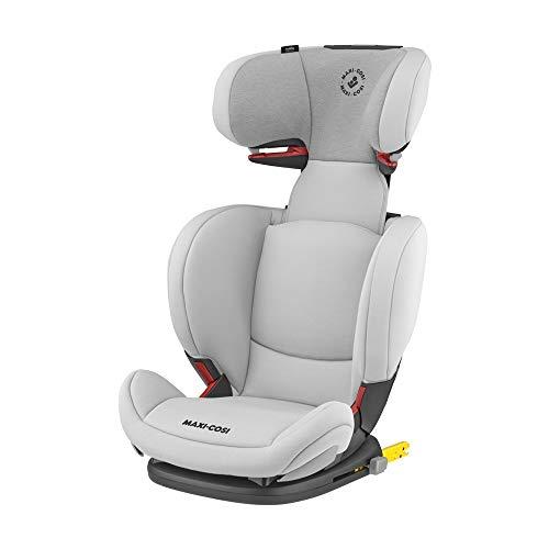Maxi Cosi RodiFix AirProtect (AP) Kindersitz Gruppe 2/3, ISOFIX-Sitzerhöhung, optimaler Seitenaufprallschutz, 3,5 - 12 Jahre, 15 - 36 kg, (grau) Authentic Grey