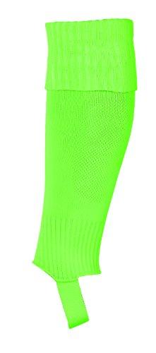 uhlsport - Calzettoni elasticizzati da uomo, Uomo, 100344921, verde fluorescente, Taglia unica