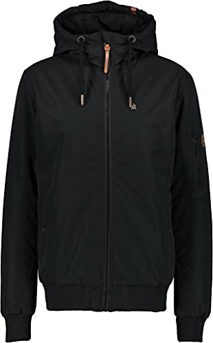 Alife and Kickin DonAK Männer Winterjacke schwarz XXL 100% Polyester Basics, Casual Wear, Streetwear