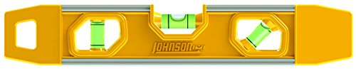 Johnson Level & Tool 8500M 9' Magnetic Aluminum Torpedo Level