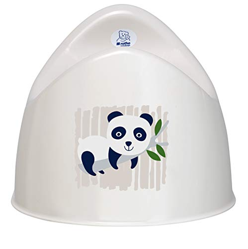BIO Kindertopf organic white, Motiv Panda