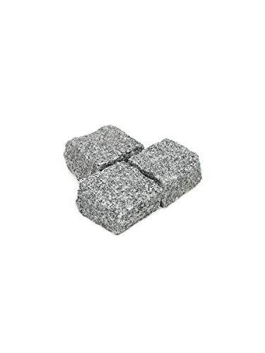 Amagard Adoquines de Granito Gris 1000kg (20x10x10cm)