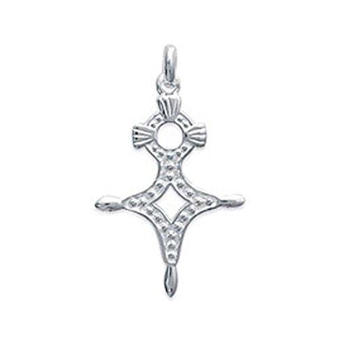 Lolita-Bling Anhänger Kreuz des Südens Agadez aus Sterling-Silber 925 Ref. LB-A4854SEPTS