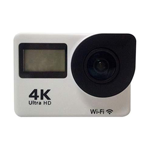 Action Cam 4k 20mp con WiFi Telecomando e Funzione Touch Screen,170°Grandangolo,Subacquea Impermeabile 30m, Microfono Esterno,Supporta Le Riprese Time Lapse,2