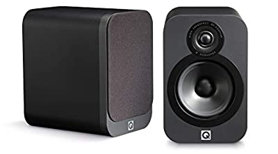 Q Acoustics 3020 Bookshelf Speakers (Pair) (Graphite) by Q Acoustics